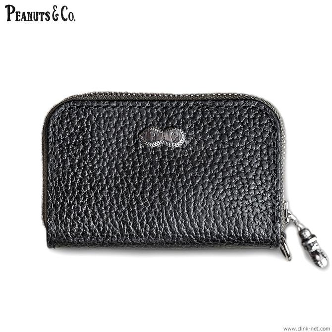 【PEANUTS&COMPANY】 ピーナッツアンドカンパニー PEANUTS & CO. ORIGINAL LEATHER WALLET - BUSINESS CARD WALLET - メンズ アクセサリー ウォレット 財布