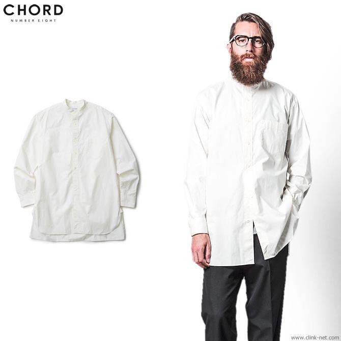 【CHORD#8/コードナンバーエイト】CHORD NUMBER EIGHT LONG SHIRT (WHITE) [N8M1H1-SH05]
