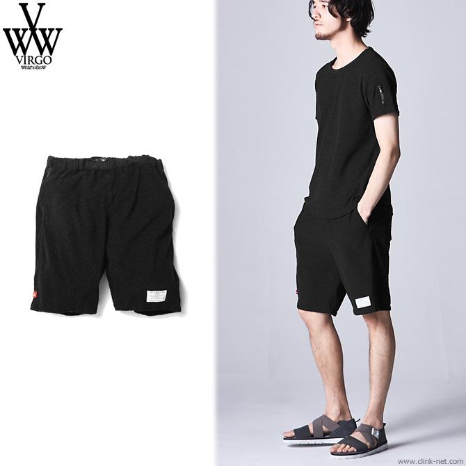 【VIRGO/ヴァルゴ】VIRGO Fluffy summer suit bottom (BLACK) [VG-PT-297]