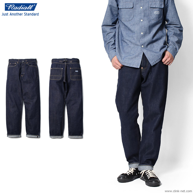 【RADIALL/ラディアル】RADIALL T.N. WORK PANTS (ONE WASH)