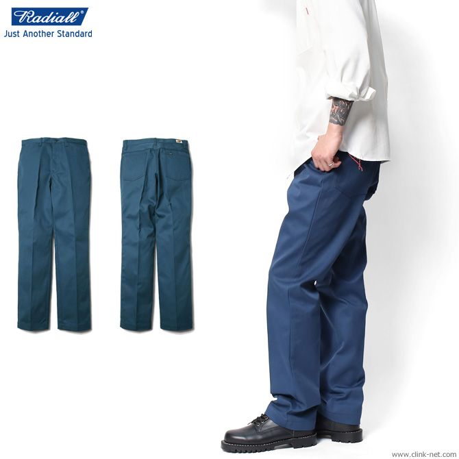 RADIALL CVS WORK PANTS -STRAIGHT FIT- (NAVY) ラディアル