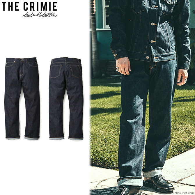 【CRIMIE/クライミー】CRIMIE BORN KILLER STRETCH JAPANEASE SELVEDGE DENIM CLASSIC LOOSE JEANS [C1H1-CXBK-P101]