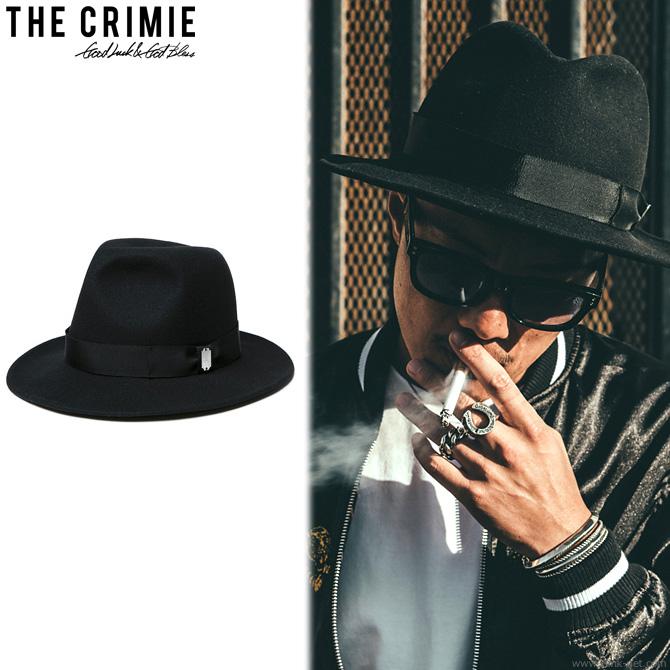 【CRIMIE/クライミー】CRIMIE ROLLING HAT (BLACK) [C1H1-CXHT-RH01]