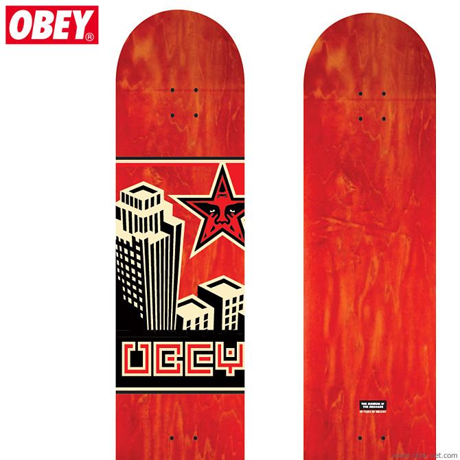 【OBEY】 オベイ OBEY SKATEBOARD DECK