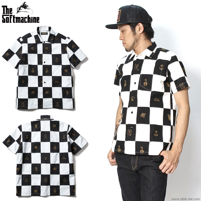 【SOFTMACHINE/ソフトマシーン】SOFTMACHINE CHESSBOARD SHIRTS