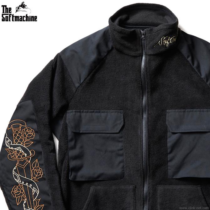 【SOFTMACHINE】 ソフトマシーン SOFTMACHINE FATE JK (BLACK) メンズ ジャケット アウター コーチジャケット ブラック