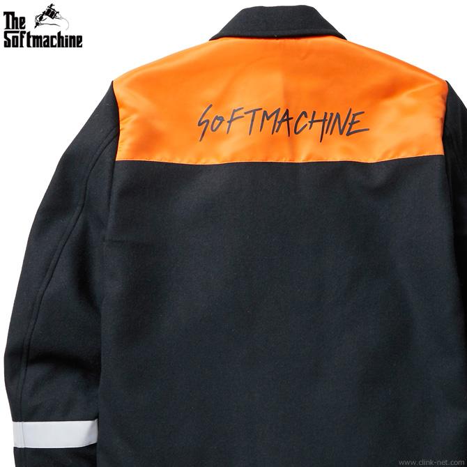 【SOFTMACHINE】 ソフトマシーン SOFTMACHINE RABBIT JK メンズ ジャケット アウター ワーク メルトン