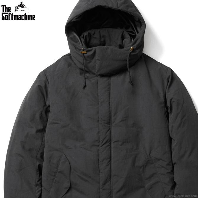 半額 SALE 50%OFF 【SOFTMACHINE】 ソフトマシーン SOFTMACHINE UNWIND COAT (BLACK) メンズ ジャケット アウター ダウン系 ブラック スーパーセール!期間・数量限定セール