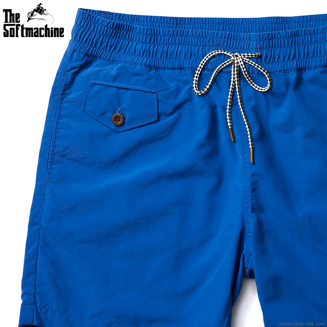 SOFTMACHINE CHILLIN' BOARD SHORTS (BLUE) ソフトマシーン ショーツ