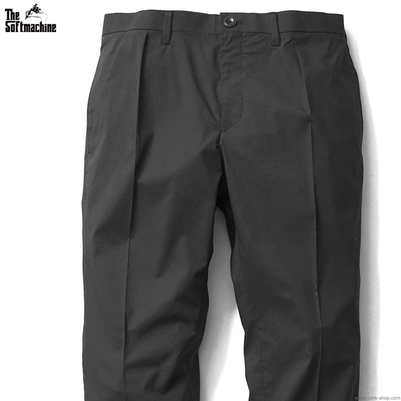 【予約/7月~8月入荷予定】SOFTMACHINE LAYER PANTS (BLACK)