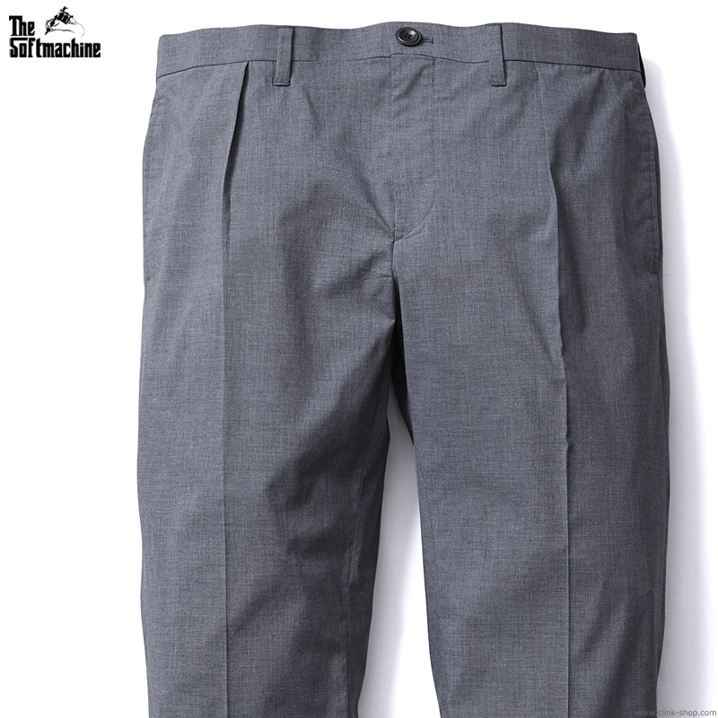 【予約/7月~8月入荷予定】SOFTMACHINE LAYER PANTS (CHARCOAL)