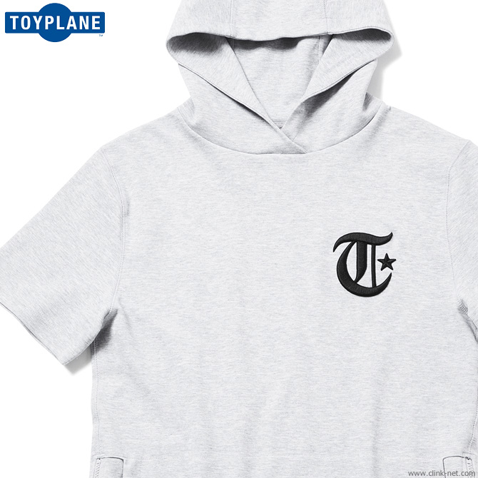 【TOYPLANE】 トイプレーン TOYPLANE S/S LEAGUE PULLOVER PARKA (GRAY) [TP18-NSW01] メンズ トップス スウェット パーカー プルオーバー グレー