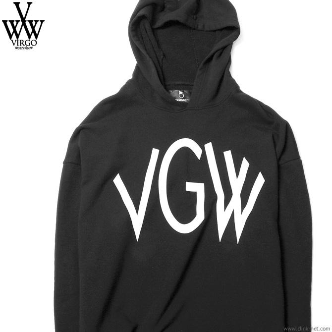 SALE 30%OFF VIRGO BIG VGW DOLMAN HOODIES (BLACK) [VG-SWT-105] ヴァルゴ 最大半額スーパーセール!期間・数量限定セール