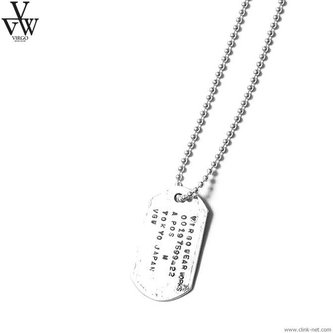 【VIRGO】 ヴァルゴ VIRGO VGW TAG 925 [VG-GD-611] メンズ アクセサリー ネックレス