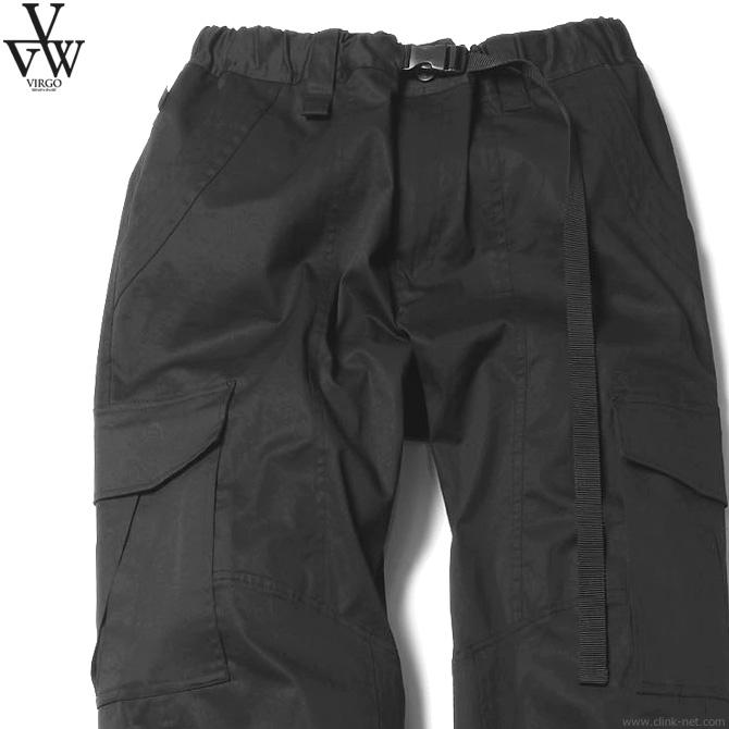 【VIRGO】 ヴァルゴ VIRGO CARGO PKT CLIMBING PT (BLACK) [VG-PT-313] メンズ ボトムス パンツ チノ ブラック
