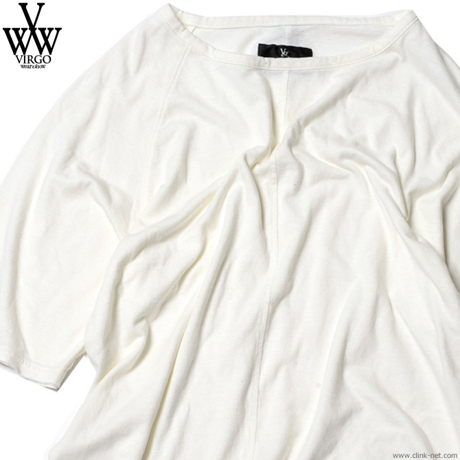 VIRGO COBALT TRAP (WHITE) [VG-CUT-384] ヴァルゴ Tシャツ ホワイト