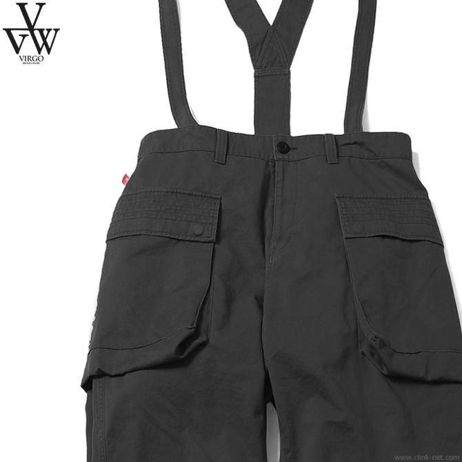 【VIRGO】 ヴァルゴ VIRGO FAT DAYENDS PT (BLACK) [VG-PT-225] メンズ ボトムス パンツ チノ ブラック