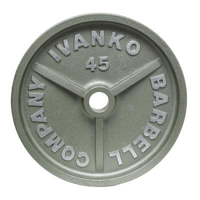 [ウェイトプレート]IVANKO OMK オリンピックペイントプレート20kg