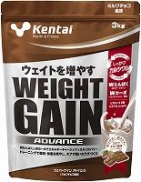 Kentai ウエイトゲインアドバンス ミルクチョコ風味 3kg