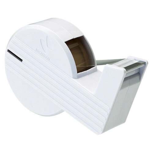 Seasonal Wrap入荷 切り口まっすぐの直線美シリーズのテープカッター 1000円以上お買い上げで送料無料 ニチバン セロテープ 直線美 セール商品 ハンドカッター メール便発送 白 - CT-15SCB5 ミニ