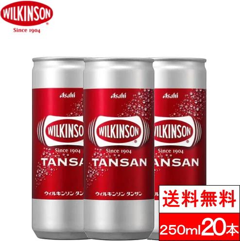 炭酸水 ウィルキンソン ☆正規品新品未使用品 タンサン 全国配送対応 1ケース 250ml 送料無料 ランキングTOP10 ソーダ 20缶