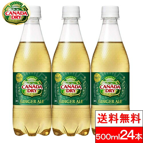 倉庫 送料無料 全国配送対応 日本メーカー新品 1ケース コカ コーラ 24本 カナダドライジンジャエール500mlPET