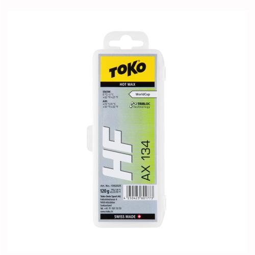 最安値に挑戦!TOKO トコ ワックス トリブロック HF AX134 120g/5502025【固形 スキー スノーボード WAX】