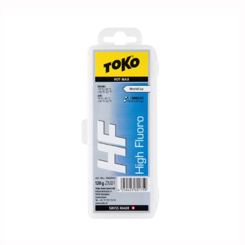最安値に挑戦!TOKO トコ ワックス トリブロック HF/ブルー 120g/5502023【固形 スキー スノーボード WAX】