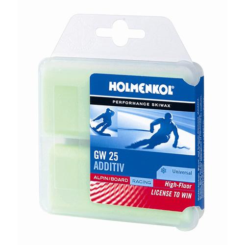 最安値に挑戦!HOLMENKOL ホルメンコール ワックス ADDITIV GW25/35g×2/24140【固形 スキー スノーボード WAX】