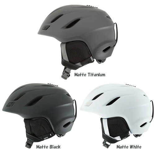 GIRO ジロ ヘルメット NINE〔アジアンフィット〕 17-18モデル スキー スノーボード