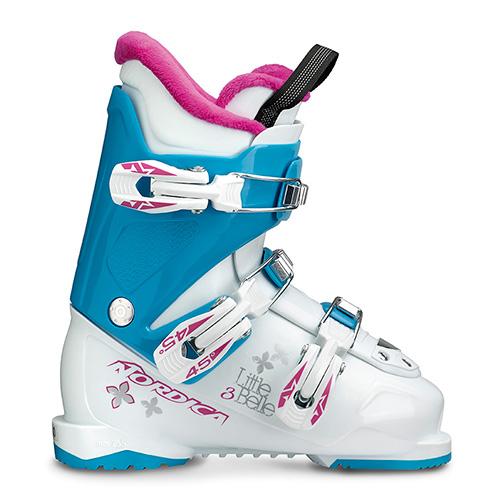 スキーブーツ 旧モデル NORDICA ノルディカ ジュニア LITTLE BELLE 3 〔WHITE/LIGHT BLUE/PURPLE〕 子供用 こども 17-18モデル 型落ち