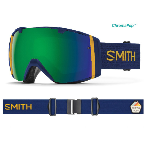 SMITH スミス スキー ゴーグル I/O Navy Scout 17-18モデル スノーボード