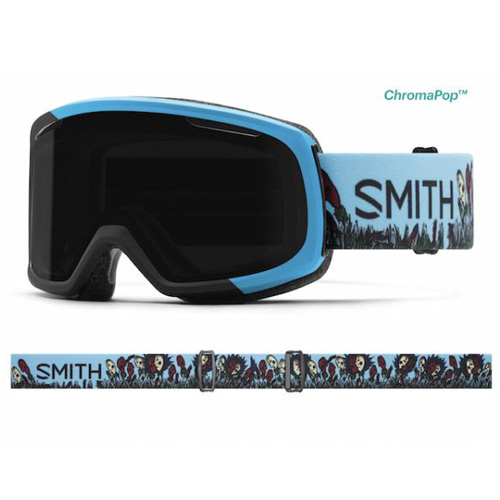 SMITH スミス レディース スキー ゴーグル Riot Desiree AC スペアレンズ付き 17-18モデル 女性用 スノーボード