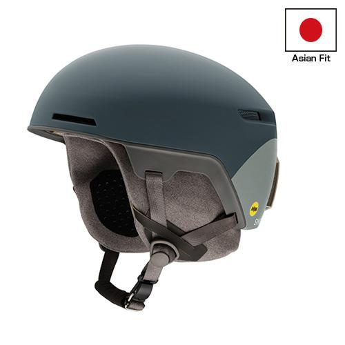 SMITH スミス ヘルメット Code Matte Thunder Gray Split〔アジアンフィット〕 17-18モデル スキー スノーボード