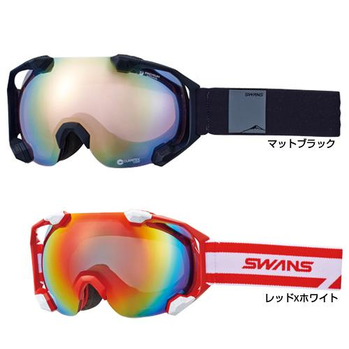SWANS スワンズ スキー ゴーグル C2N-MDH-SC-PAF 17-18モデル スノーボード