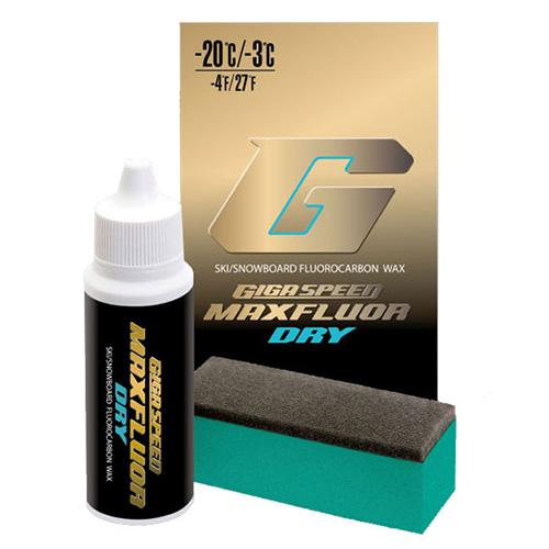 最安値に挑戦 【スタートワックス】GALLIUM ガリウム ワックス GS3103 GIGA SPEED Maxfluor Dry〔30ml〕【液体 スキー スノーボード WAX】