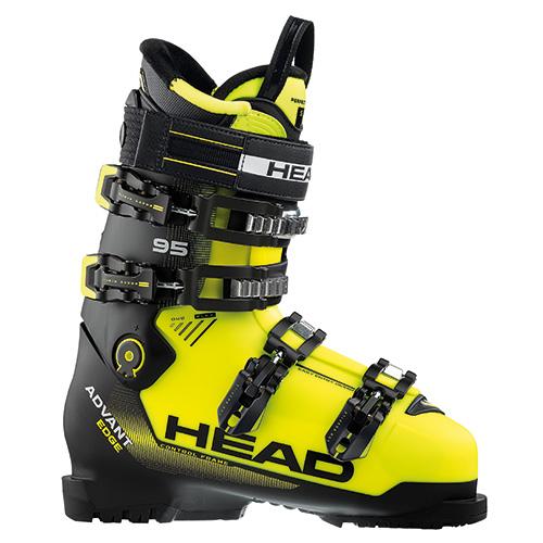 スキーブーツ 旧モデル HEAD ヘッド ADVANT EDGE 95 Yellow/black 17-18モデル メンズ 型落ち
