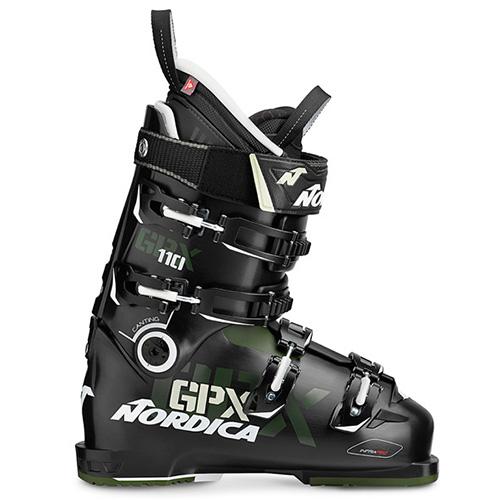 スキーブーツ 旧モデル NORDICA ノルディカ GPX 110〔BLACK/GREEN〕 17-18モデル 型落ち メンズ