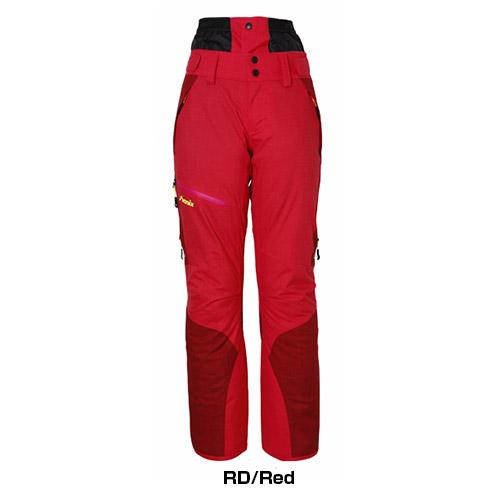 スキーウェア 旧モデル PHENIX フェニックス パンツ Spray Insulation Women's Pants/PA782OB50 RD/Red レディース 女性用 単品