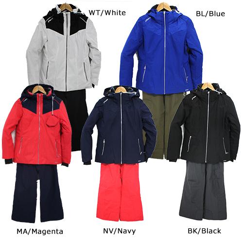 スキーウェア 旧モデル PHENIX フェニックス Bi-Color Snow Marble W's Two Piece PS8822P60 レディース 女性用 上下セット