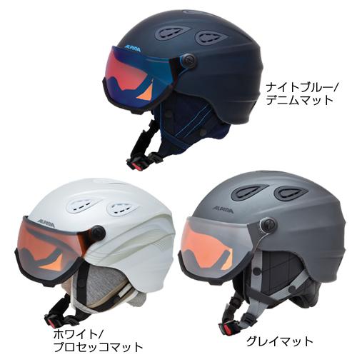 ALPINA アルピナ ヘルメット SNOW GRAP VISOR 2.0 HM 18-19モデル スキー スノーボード