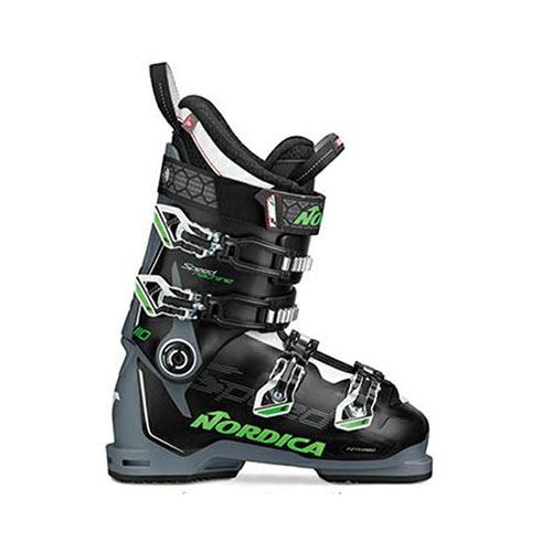 スキーブーツ NORDICA ノルディカ スキー ブーツ SPEEDMACHINE 110 BLACK/GREY/GREEN メンズ レディース 19-20モデル 新作