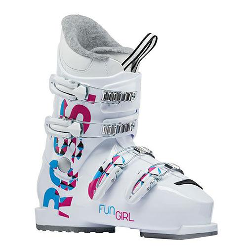 【エントリーでP2倍 6/11 01:59まで 39ショップ限定】スキーブーツ ROSSIGNOL ロシニョール ジュニア FUN GIRL J4 子供用 こども 19-20モデル 新作