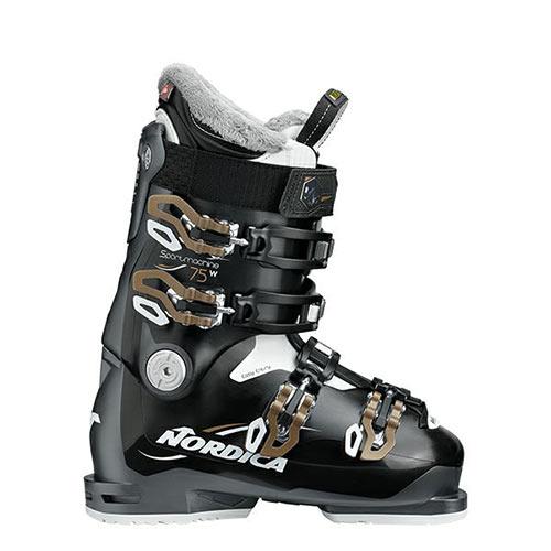 【エントリーでP2倍 6/11 01:59まで 39ショップ限定】スキーブーツ NORDICA ノルディカ スキー ブーツ SPORT.M 75W BK/AN/BZ レディース 19-20モデル 新作