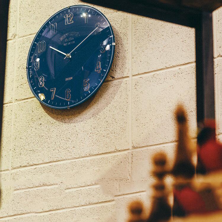 壁掛けフック特典有★電波時計 掛け時計 ブリアック Bouliac インターフォルム【壁掛け時計 掛時計 壁掛け電波時計 おしゃれ かわいい デザイン 壁時計 木目調 雑貨 モダン シンプル 北欧 ナチュラル 新築祝い 結婚祝い ウォールクロック ギフト |熨斗 新生活】