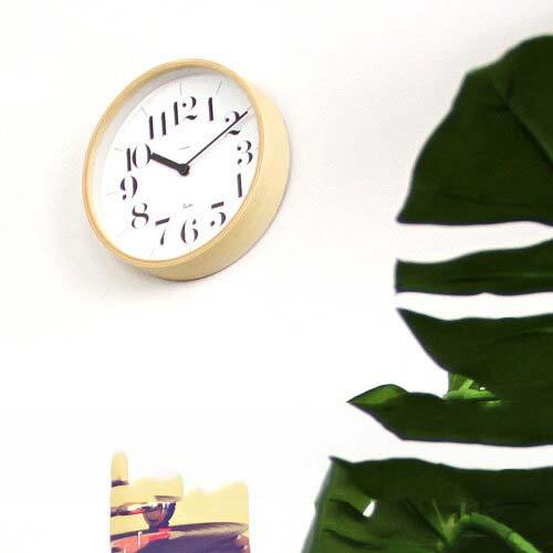 壁掛けフック特典有★掛け時計 リキクロック RIKI CLOCK WR-0401s【壁掛け時計 おしゃれ インテリア 壁掛け ナチュラル 渡辺力 デザイナーズ 新築祝い 引越し祝い 和モダン シンプル 小さい 見やすい ウォールクロック ギフト プレゼント 結婚祝い クリスマス】
