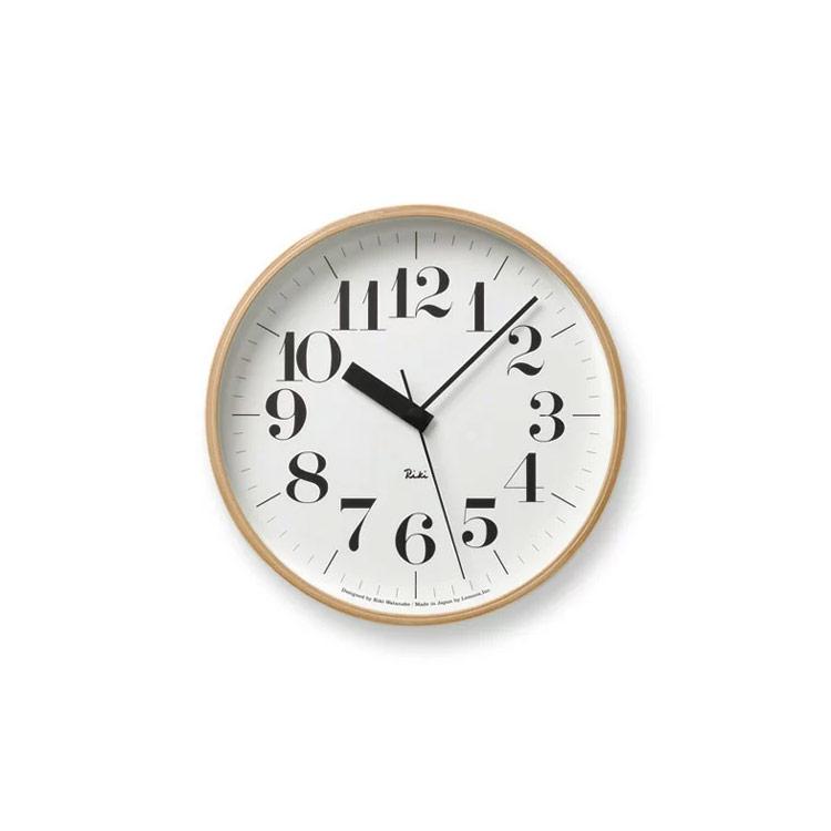 電波時計 掛け時計 壁掛け時計 時計 壁掛け 電波 電波掛け時計 おしゃれ 木製 木 ナチュラル デザイナーズ デザイナー デザイン 送料無料お手入れ要らず お得なキャンペーンを実施中 渡辺 力 小さい 小さめ 新築祝い 北欧 渡辺力 テレワーク リキクロック RC 在宅勤務 インテリア時計 在宅 WR07-11 CLOCK RIKI 見やすい ウォールクロック ギフト シンプル プレゼント 結婚祝い 壁掛け電波時計