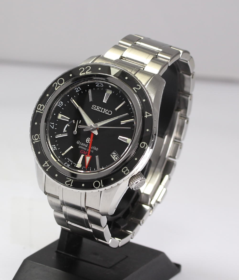 Drive 9R66-0AA0 SBGE001 power reservation men watch / inner box is with it in SEIKO ground SEIKO spring GMT