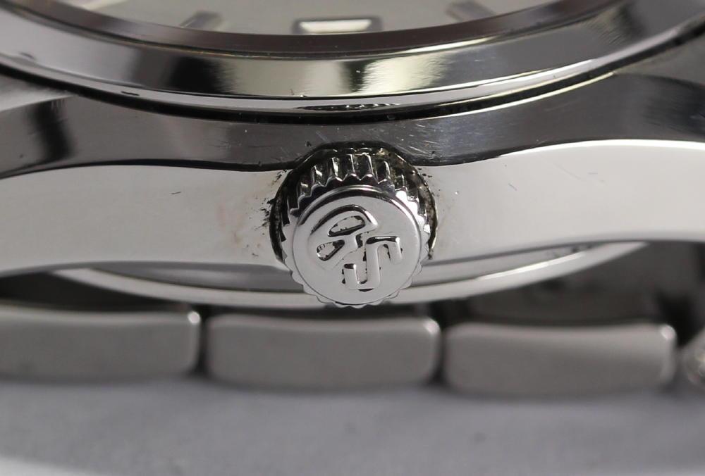 세이코 그랜드 세이코 GS메카니컬 SBGR001 9 S55-0010 SS호흡 자동감김 맨즈 손목시계상자・보증서・나머지구부