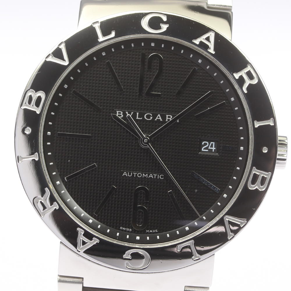 ☆美品【BVLGARI】ブルガリ ブルガリブルガリ BB42SS 自動巻き メンズ【ev05a】